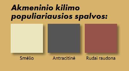 pagrindių spalvų gama